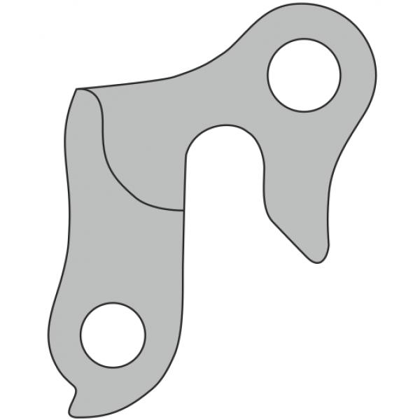 Auselė dviračio rėmui DP-35